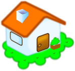 cute little house, OpenClipArt