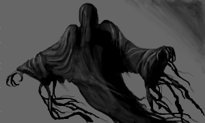 Dementor image, credit to Jinger of Sketchfu