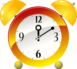 open clip art clock