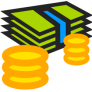 openclip art - money, notes and coins