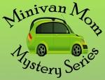 minivan mum mom mystery series, logo
