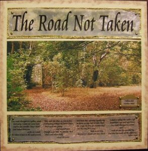 road not taken poem, robert frost