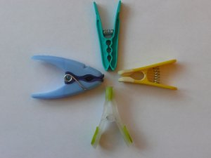 another selection of plastic pegs