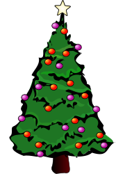 clip art christmas tree from OpenClipArt