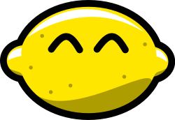 Clipart lemon from OpenClipArt,