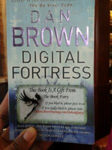 Digital Fortress with Book Fairy Sticker in place