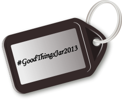 Good things jar tag, modified from an entry on OpenClipArt