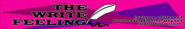 banner for The Write Feeling