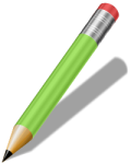 openclipart - realistic green pencil