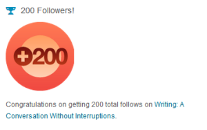 200 followers notification