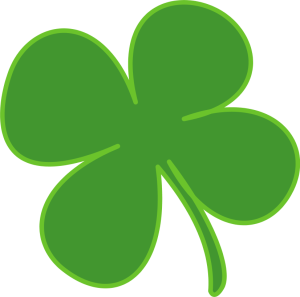 four leaf clover from openclipart.com