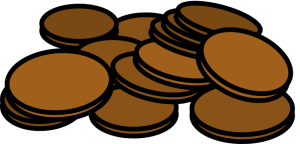 a pile of pennies from openclipart.com