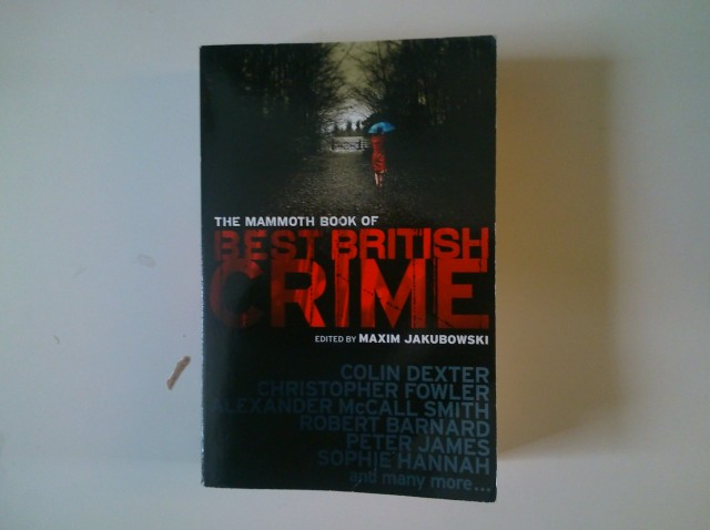 My copy of the Mammoth Book of Best British Crime (7)