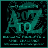 Badge for the April A2Z Challenge 2014