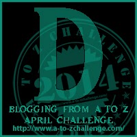 D button for A2Z Challenge
