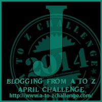 J button for A2Z Challenge