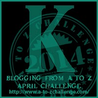 K button for A2Z Challenge