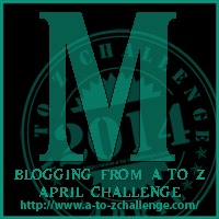 M button for A2Z Challenge
