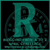 R button for A2Z Challenge