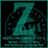 Z button for A2Z Challenge