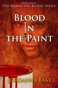 Blood in the paint book cover