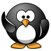 waving penguin from open clipart
