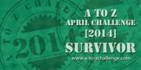 Survivor Badge for the April A2Z Challenge 2014