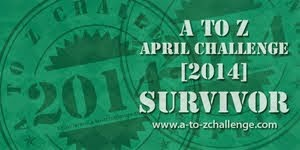 survivor button for april a2z 2014
