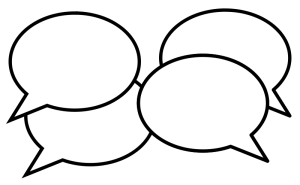 speech bubbles from openclipart