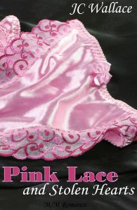 cover art for Pink Lace and Stolen Hearts