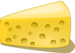 portion of cheese