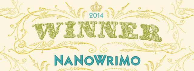 Nanowrimo 2014 winner banner