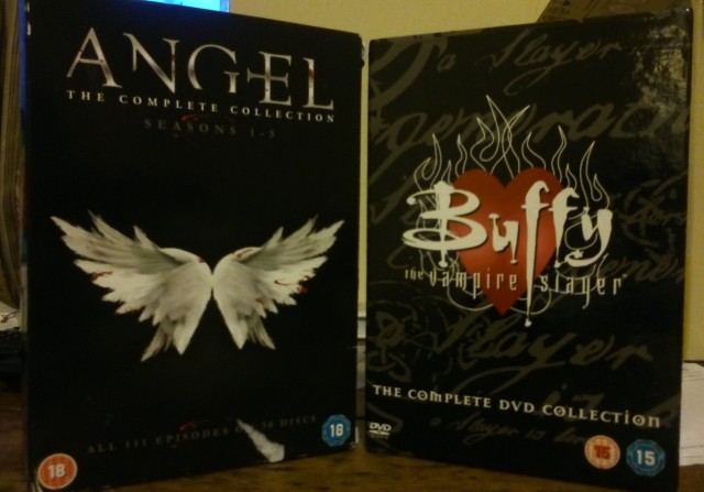Buffy and Angel DVD sets