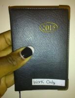 my work diary