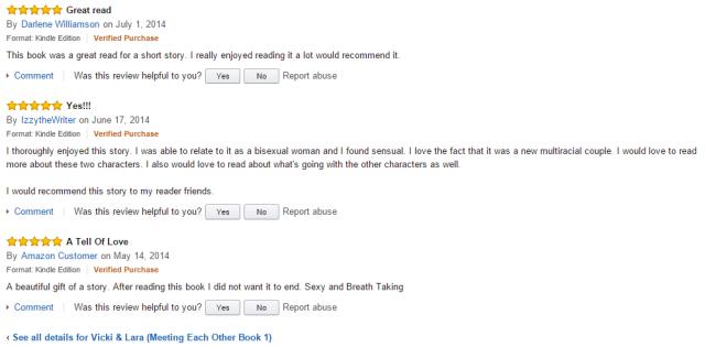 Vicki & Lara 5* reviews